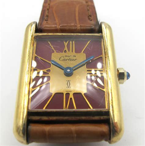 Cartier Tank Rp 375 000 cartier cartier gioielli orologi e argenti asta 118