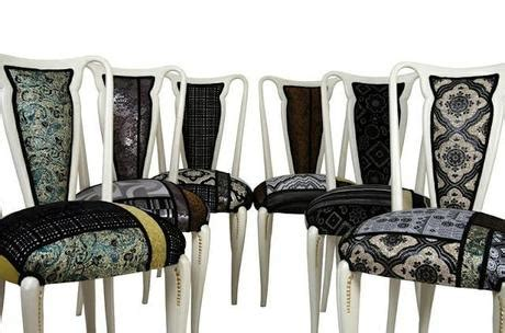 tappezzeria per sedie designdessai ecodesign pezzi unici tappezzerie originali
