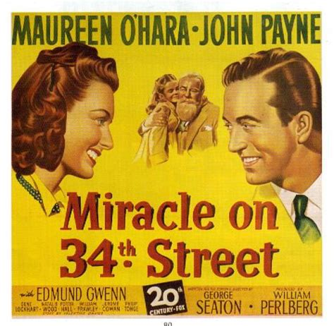 A Miracle On 34th 1947 Miracle On 34th Preservation In Pink