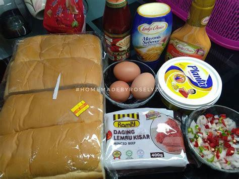 cara membuat roti oblong lecehnya bersesak di bazar lagi sedap buat sendiri roti