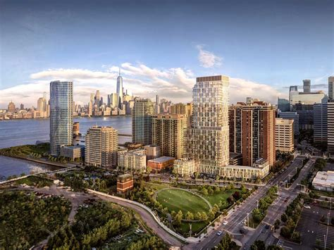 Jersey City inside park and shore discover dramatic residences on