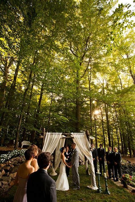 Intimate Backyard Wedding by Small Intimate Wedding On Small Winter Wedding