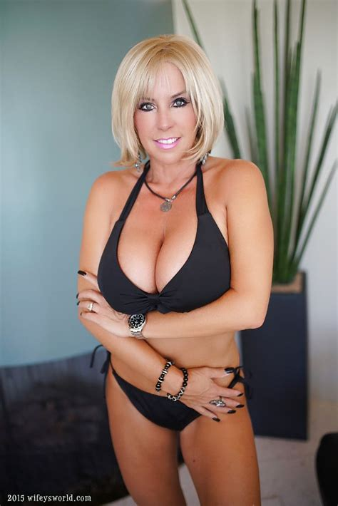 new large busted blonde milfs 10 best images about adventures in chin length bobs on