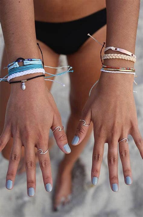wave rings pura vida bracelets summer jewelry cute