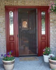 Retractable Screen Front Door Retractable Screen Door Photo Gallery