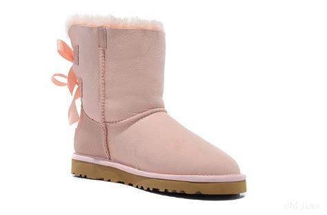 light pink bailey bow uggs ugg women australia bailey bow boots light pink
