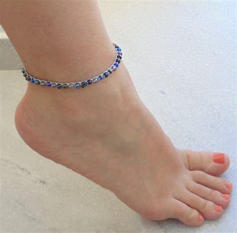Acesoris Gelang Jewelry beaded ankle bracelet foot jewelry jewelry beachwear