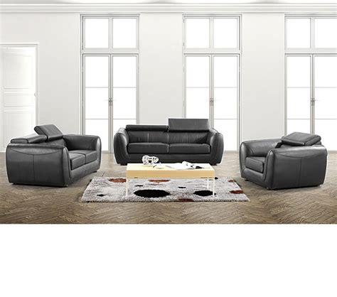 casa leather sofa dreamfurniture divani casa 3012 modern bonded