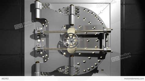 vault door open stock animation 482902