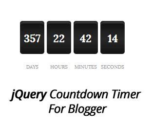 jquery tutorial timer how to add jquery countdown timer widget in blogger my