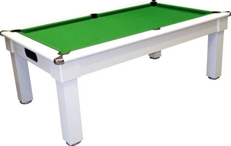 white pool table dining table optima tuscany uk made pool dining table pool tables