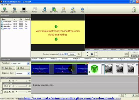 tutorial menggunakan videopad video editor how to use videopad video editor editing videopad software