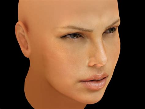 Charlize Theron Pretends To Model by Charlize Theron 3d Model Max Cgtrader