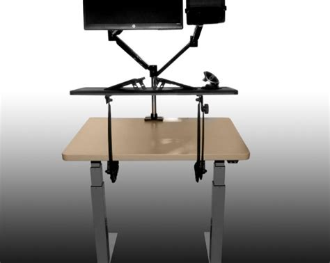 Sit Stand Desk Converter A Review Of The Sit Stand Desk Converter Pro Desk Riser