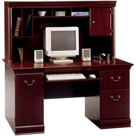 walmart computer desk with hutch bush furniture birmingham computer desk with hutch
