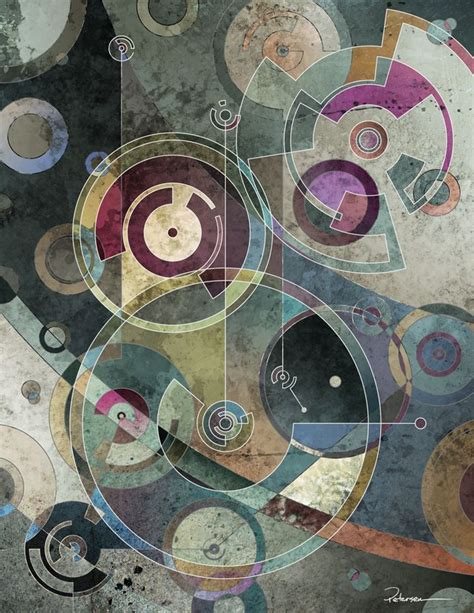abstract paintings with circles 25 best ideas about circle on typography