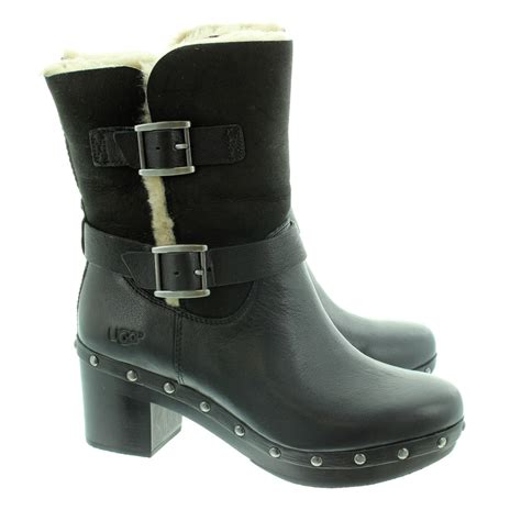 clogs boots for ugg clog boots in black in black