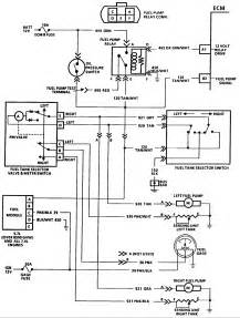 wiring diaghram for fuel on 87 chevy p u v8 dual tank