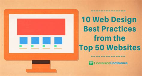 web layout best practices 10 web design best practices from the top 50 websites