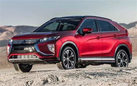 mitsubishi crossover models 2019 mitsubishi eclipse cross changes design specs