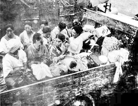wwii comfort women comfort women being trucked to japanese cs teaching