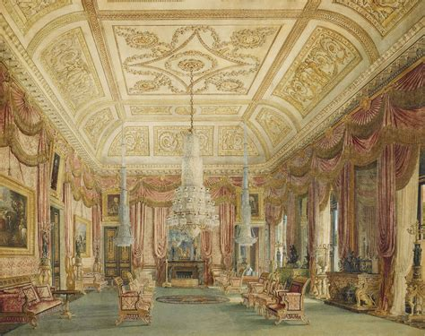carlton house file carlton house crimson drawing room by charles wild 1816 royal coll 451820