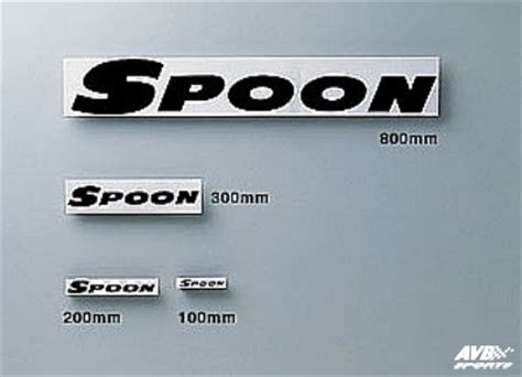 Sticker Spoon Sports For Velg spoon sports decal avb sports car tuning spare parts