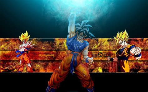 wallpaper keren dragon ball dragon ball z wallpapers goku wallpaper cave