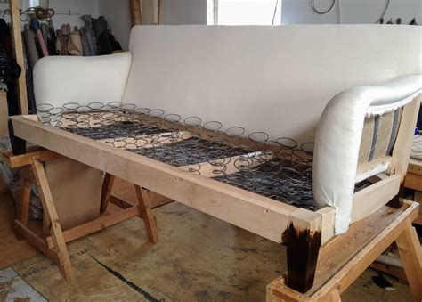 How To Upholstery by 12 Howard Sofa Process Of In Traditional Way