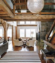 Barn Home Decor creative house that built from a barn home building furniture and interior design ideas