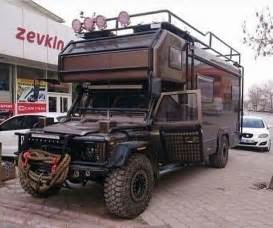 land rover defender motorhome landrover cer road land rovers