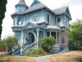 blue queen anne victorian house my historic home