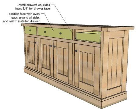Log Dresser Plans by Easy To Build Log Furniture Plans Woodworking Projects