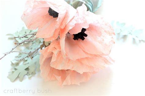 watercolor paper flower tutorial crepe anemone flower tutorial