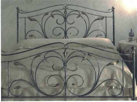 spalliere letto in ferro battuto letti in ferro battuto lavorazioni in ferro battuto