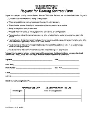 tutor contract template sle noncompete agreements forms and templates