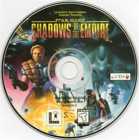 Wars Shadows Of The Empire Genuine 23 K Gold Card Sculpted G 1 wars shadows of the empire 1996 nintendo 64 box cover mobygames