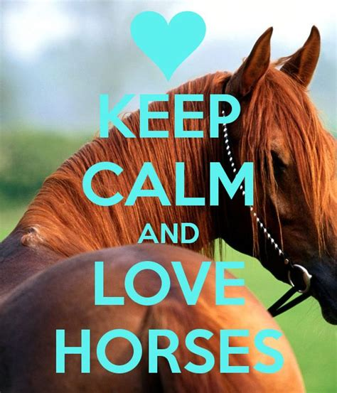 We love horses site