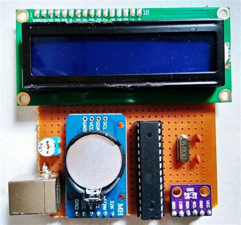 Jam Dan Ukur Suhu Ruang Digital Untuk Di Mobil Vn26 altimeter arduino jam digital dan suhu dicky b mz