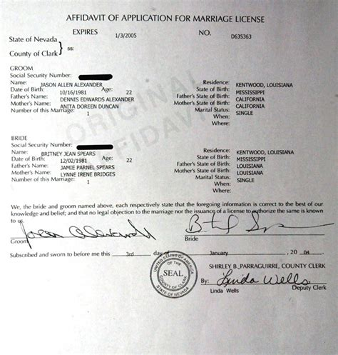 Las Vegas Marriage Record Weds In Las Vegas The Gun