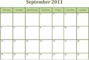 Blank Monthly Calendar Pdf Blank September Calendar Printable White Gold