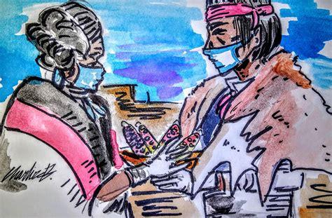 navajo hopi families covid  relief aims   elders  struggling families