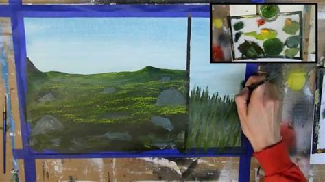 acrylic paint grass how to paint grass 6 different ways acrylic painting