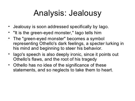 themes of jealousy in macbeth othello jealousy essay othello essays on jealousy othello