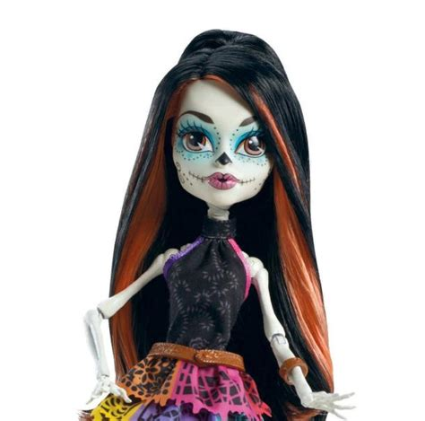 Strong Man Toilet Paper Holder by Monster High Scaris Skelita Calaveras Doll The Coolest