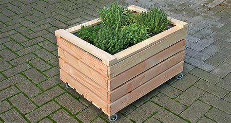 Natur Holzkisten Kistenbeete Hochbeete Gr 252 Ner Daumen