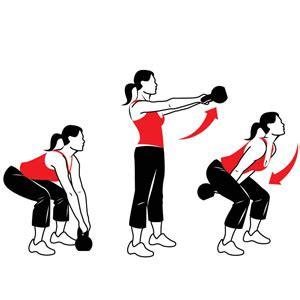 kettlebell squat swing kettlebell workouts total exercises s health