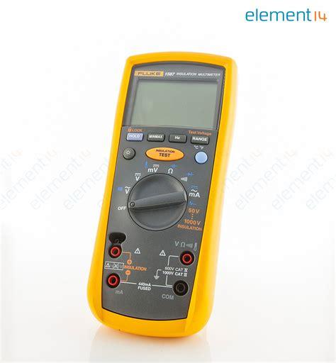 Multimeter Digital Fluke fluke 1587 fluke 50 to 1000v insulation digital