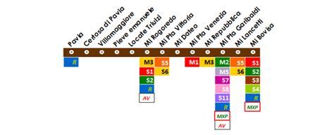 passante pavia passante linea s13