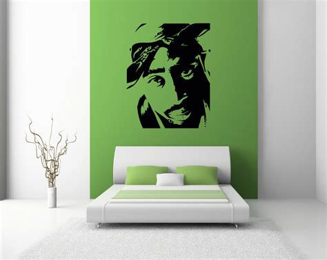 Wall Transfers Bedroom by 2pac Wall Sticker Decals Bedroom Lounge Graphics Large